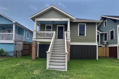 Galveston Single Family Home For Sale: 1715 Mechanic Street