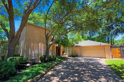 Memorial Single Family Home For Sale: 14124 Cardinal Lane