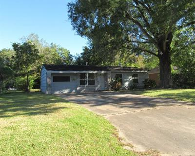 Houston TX Single Family Home For Sale: $59,900