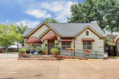 Houston Single Family Home For Sale: 2438 Sunset Boulevard