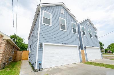 Houston Single Family Home For Sale: 8508 Brandon Street