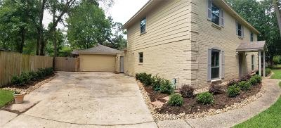 Spring Single Family Home For Sale: 6302 Hickorycrest Drive