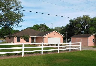 Brazoria Single Family Home For Sale: 6418 County Road 659
