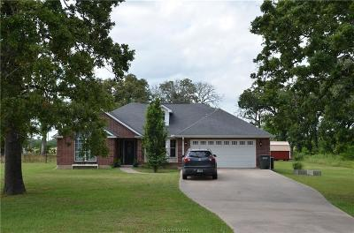 Navasota Single Family Home Pending: 5915 County Road 452