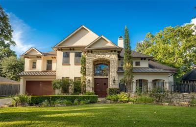 Houston Single Family Home For Sale: 7618 Edgeway Drive