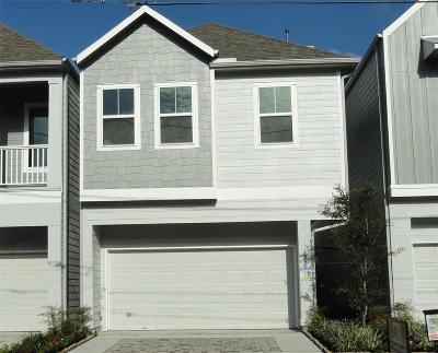 Houston Single Family Home For Sale: 105-B Reinerman Street