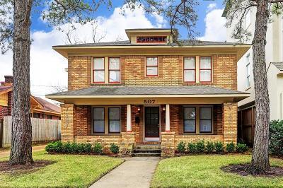 Houston Multi Family Home For Sale: 507 W Pierce Street