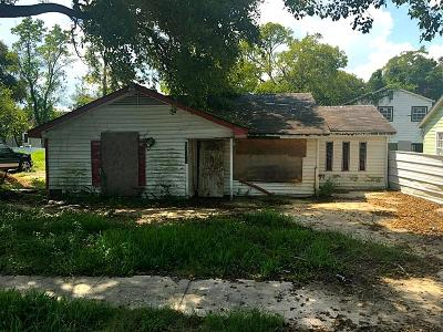 Houston Single Family Home For Sale: 6822 Sidney Street