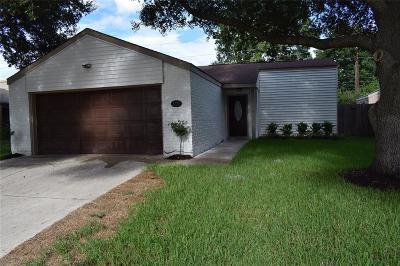 Houston TX Single Family Home For Sale: $180,000