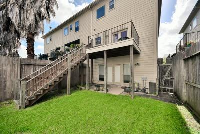 Houston Condo/Townhouse For Sale: 903 Hartman Street