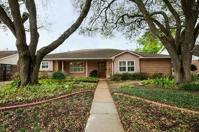 Houston Single Family Home For Sale: 5414 Rutherglenn Drive