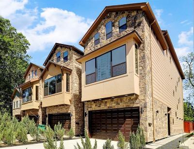 Houston Single Family Home For Sale: 406 Fenn Street #B