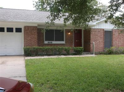 Memorial Single Family Home For Sale: 859 Carlingford Lane