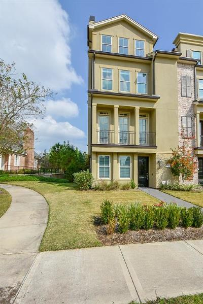 The Woodlands Condo/Townhouse For Sale: 2552 N Bay Place