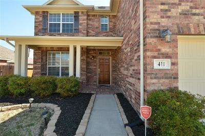 Rosenberg Single Family Home For Sale: 411 Blossom Terrace Lane