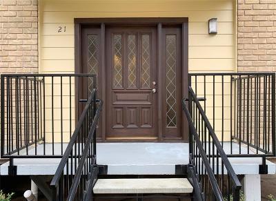 Houston Condo/Townhouse For Sale: 3131 Cummins Street #21