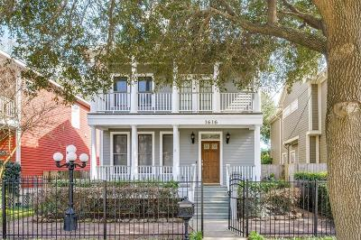 Houston Single Family Home For Sale: 1616 Beall Street