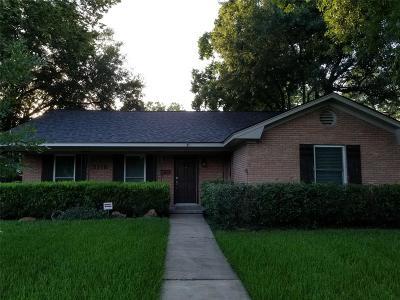 Houston Single Family Home For Sale: 5118 W Bellfort St Street