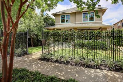 Houston Single Family Home For Sale: 814 Marshall Street