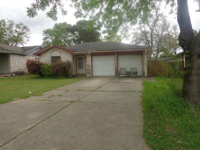 Channelview Single Family Home For Sale: 14906 Woodford St