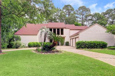 Houston Single Family Home For Sale: 11018 Lakeside Forest Lane