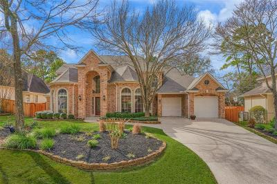 The Woodlands Single Family Home For Sale: 114 N Hunters Crossing Circle