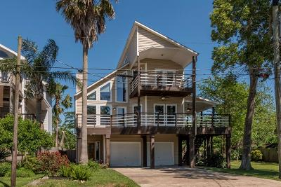 Clear Lake Single Family Home For Sale: 519 Narcissus Road