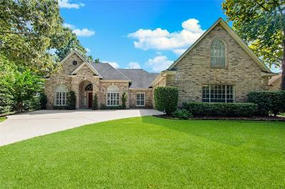 Conroe Single Family Home For Sale: 807 Carriage Hills Boulevard