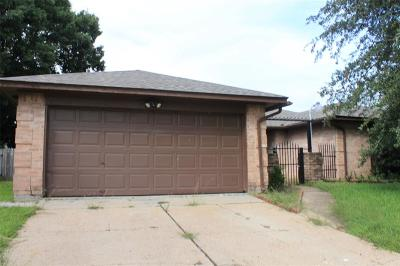Houston TX Single Family Home For Sale: $175,000