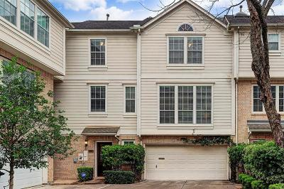 Houston Condo/Townhouse For Sale: 1312 Welch Street #B
