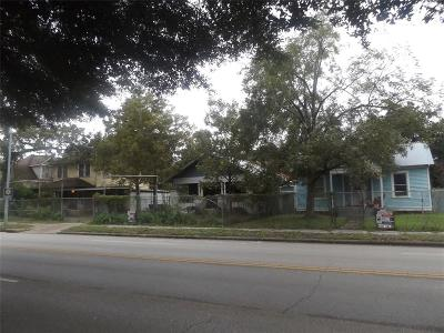 Houston Single Family Home For Sale: 1239 Yale Street