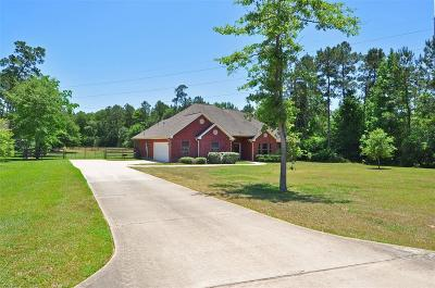 Conroe Single Family Home For Sale: 16104 McQueen Road
