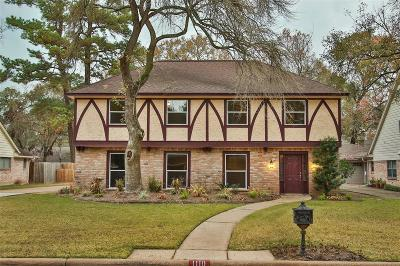 Houston Single Family Home For Sale: 1110 Manatee Lane