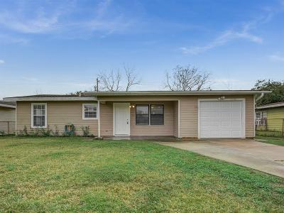 Texas City Single Family Home For Sale: 3507 Palm Avenue