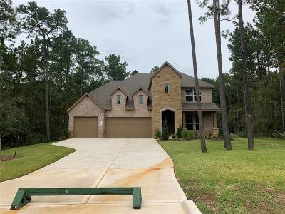 Conroe Single Family Home For Sale: 11238 Quiet Lake Drive