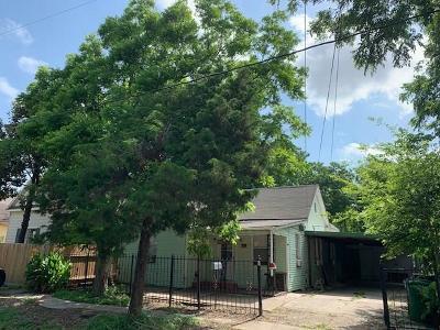 Houston Single Family Home For Sale: 2508 Gano Street