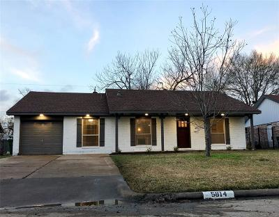 Houston Single Family Home For Sale: 5814 Libbey Ln