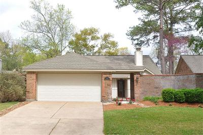 Kingwood Single Family Home For Sale: 3430 Beech Point Drive