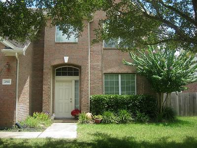 Pearland Rental For Rent: 2511 Sunlight Lane