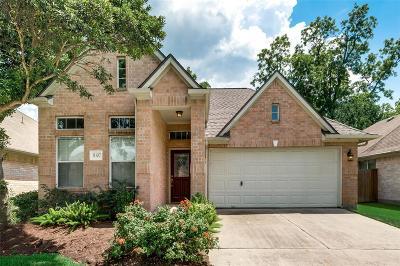 Cypress Single Family Home Option Pending: 11107 Creekline Glen Court
