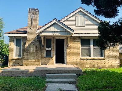 Houston Single Family Home For Sale: 5001 Farmer Street