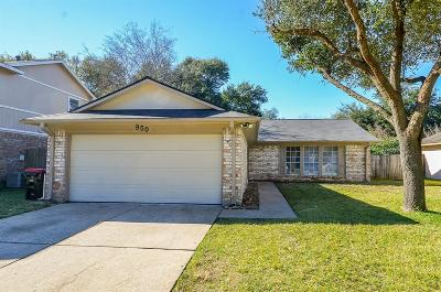 Katy TX Single Family Home For Sale: $175,000