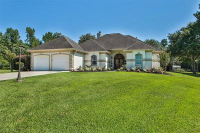 Single Family Home For Sale: 15513 Crown Oaks Drive
