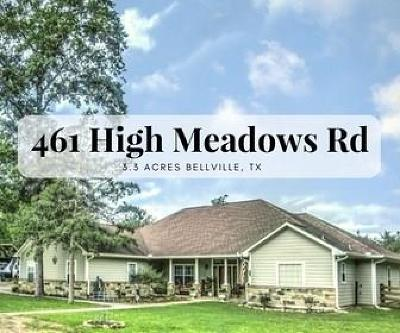 Bellville Single Family Home For Sale: 461 High Meadow Road