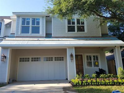 Houston Single Family Home For Sale: 631 E 11 1/2 Street