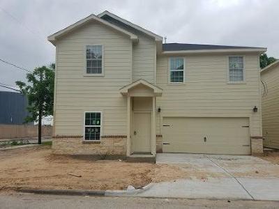 Houston Single Family Home For Sale: 1718 Finch Street