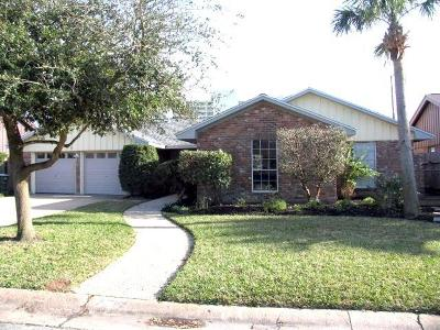 Galveston Single Family Home For Sale: 7717 Chantilly Circle