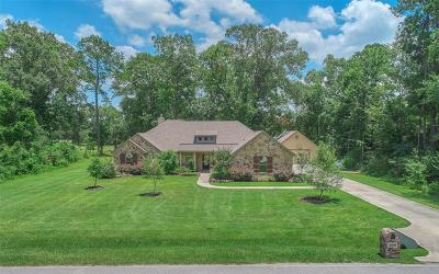 Huffman Single Family Home For Sale: 27518 Golf View Lane