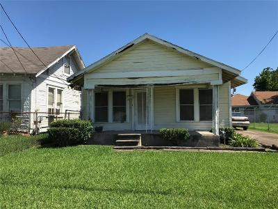 Houston Single Family Home For Sale: 817 N Loop