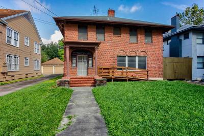 Houston Single Family Home For Sale: 520 Colquitt Street